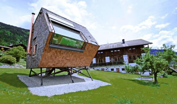 A Tiny House on Stilts