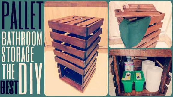 Beach House Basics DIY Storage Bin