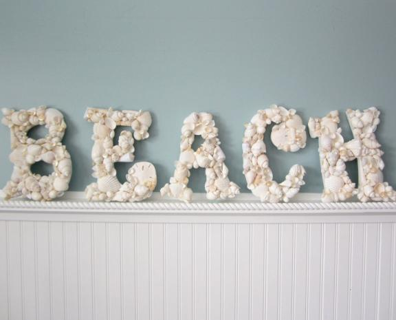 Beach cottage summer room decor