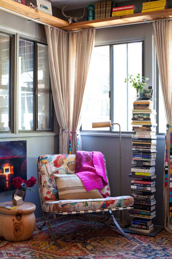 Boho-Chic Reading Nook Ideas