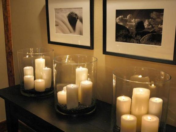 Chapel Ambiance Glass-Encased Candles