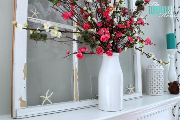 Colorful floral arrangements summer house ideas
