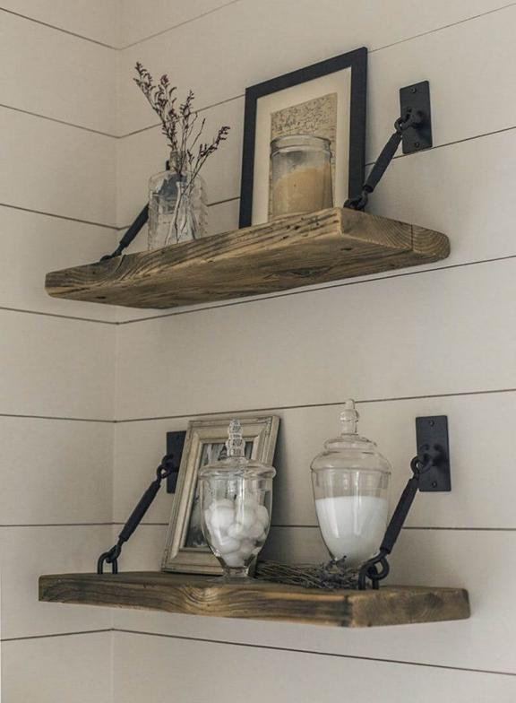 Country Stables-Style Decorative Shelves