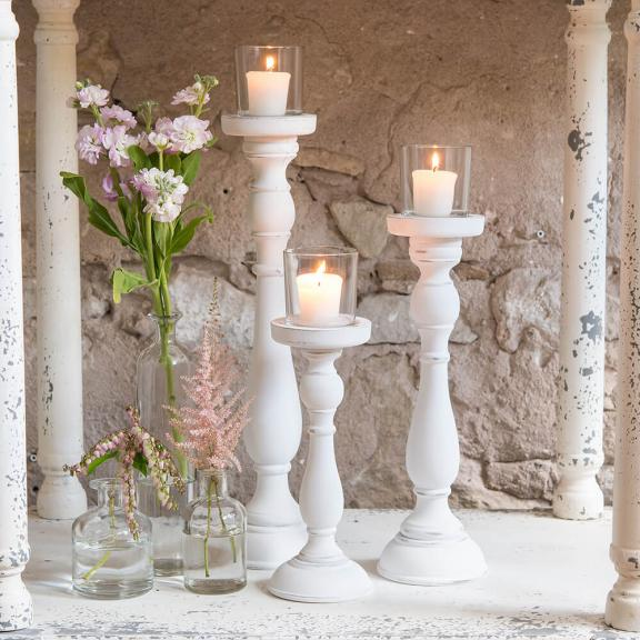 DIY Antique Candlestick Votive Holders
