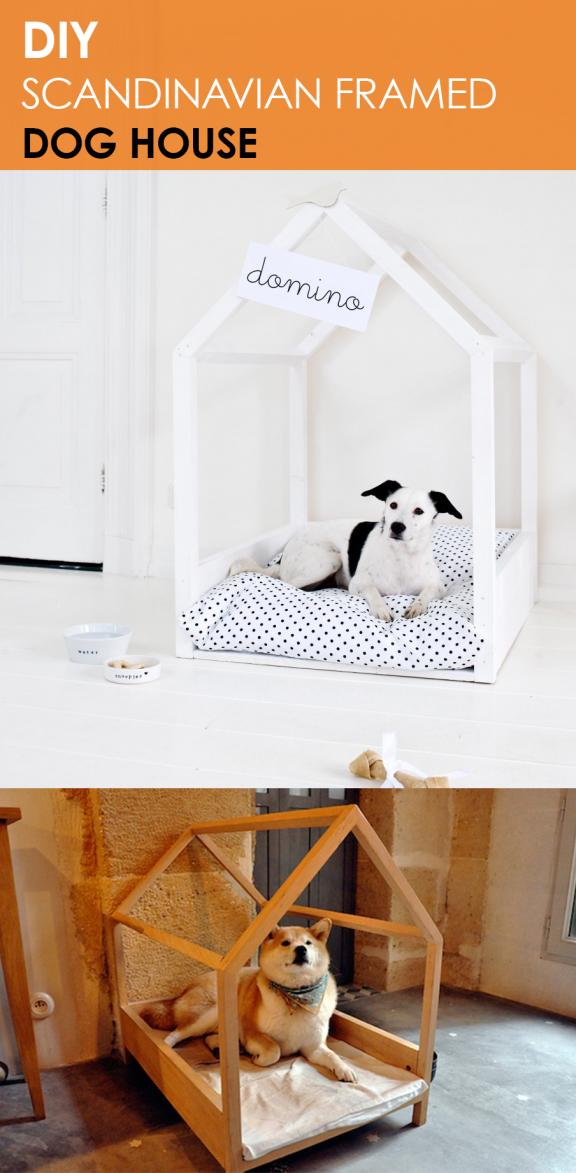 DIY Doghouse Frame Bed