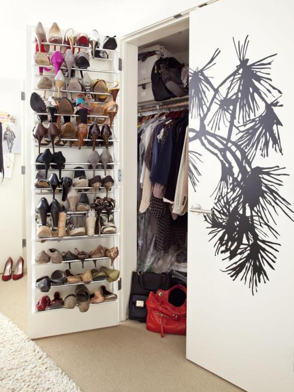 Door Hanging Closet Shoe Racks