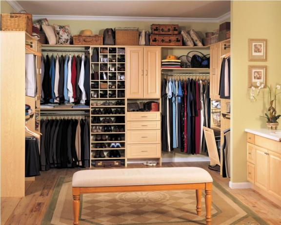 Extend Your Home Design Into Your Closet Area