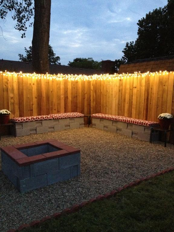 Panchine Fence Light e Cinder Block