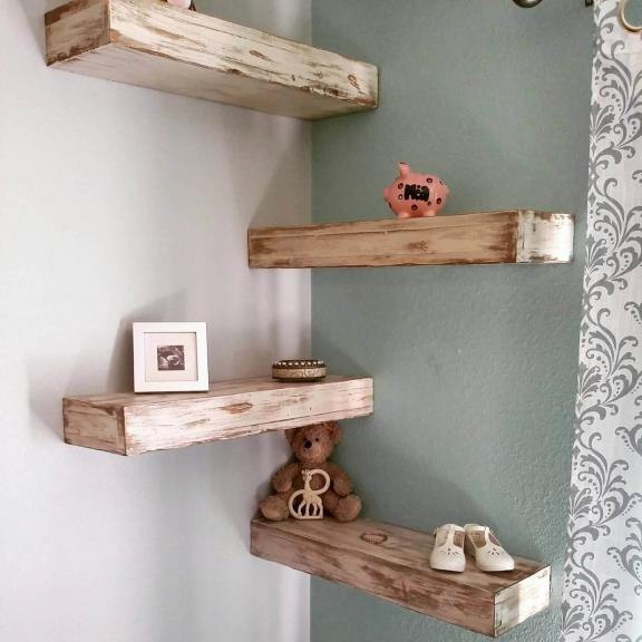 Hundred Acre Wooden Board Shelves