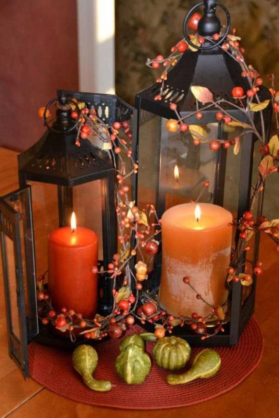 Magical Fall Lanterns