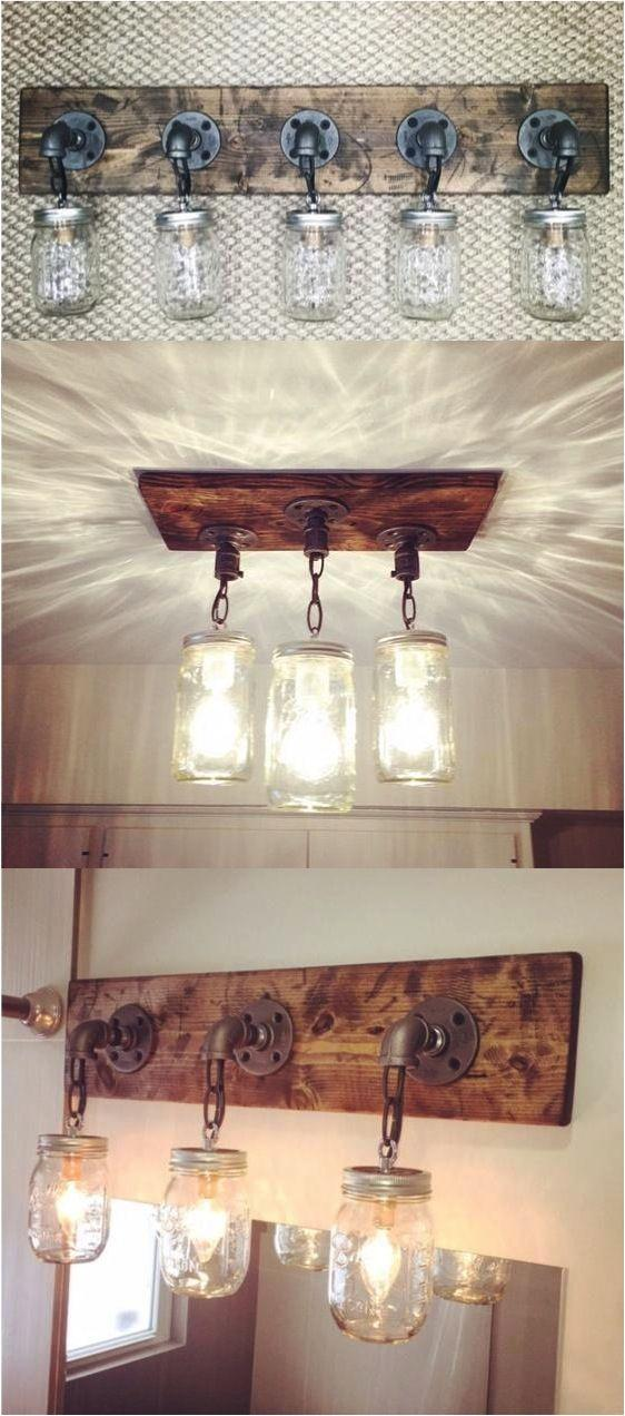 Mason Jar Light Fixtures