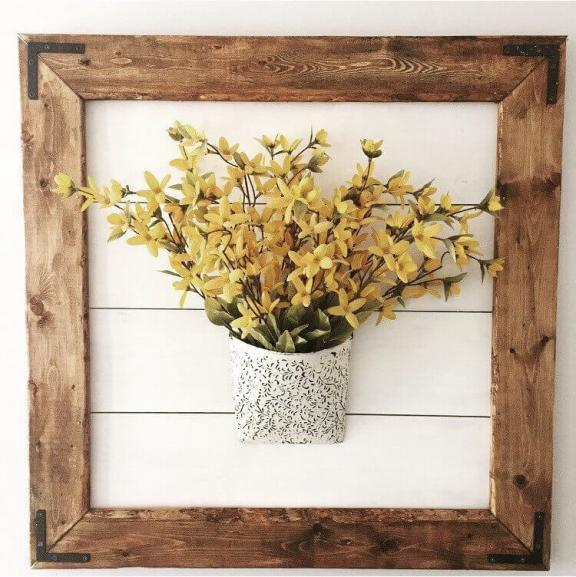 Naturally Framed Bouquet