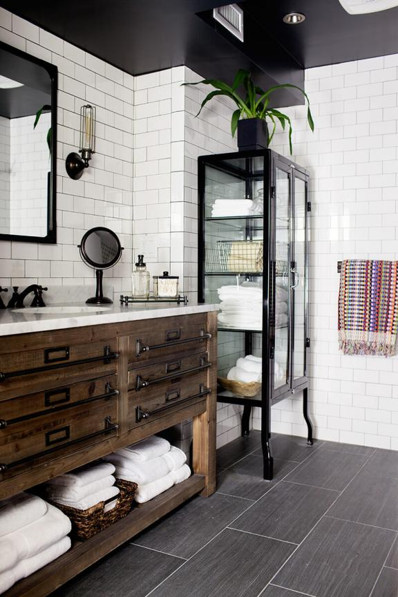 Rustic Simplicity Bathroom