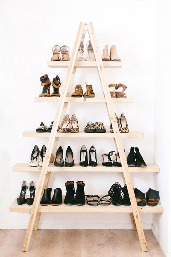 Shoe Pyramid Stairs