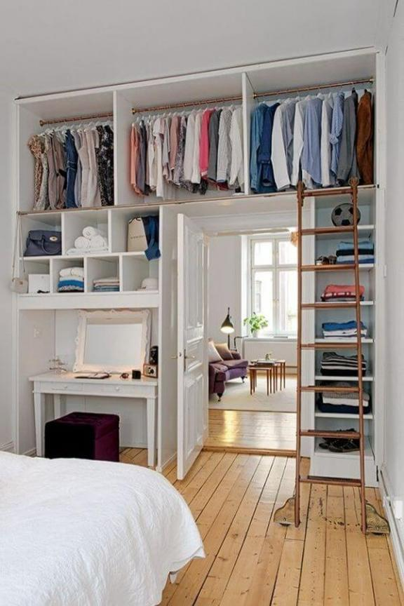 The Walls Become Your Closet