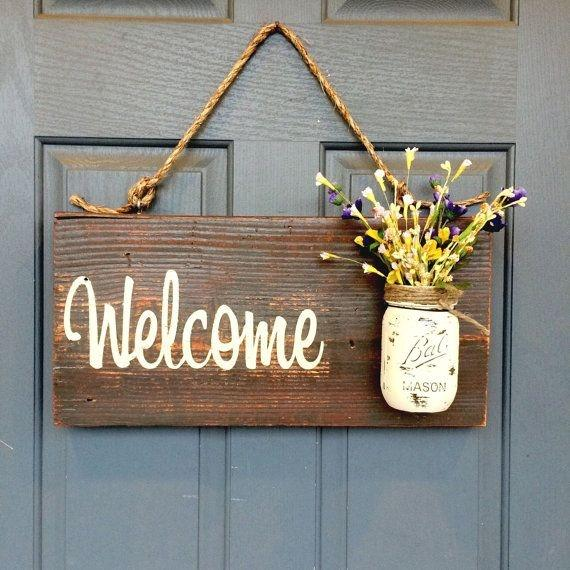 This Quaintly Charming Welcome Sign is Utterly Irresistible