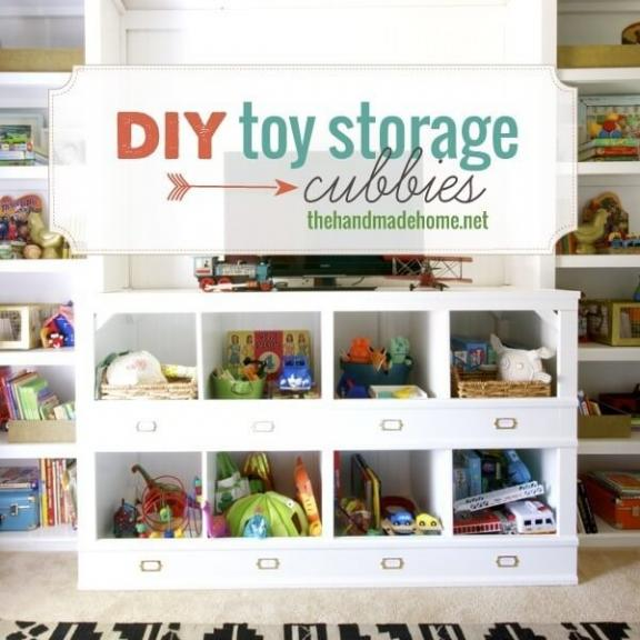 Toy Storage Cubbies