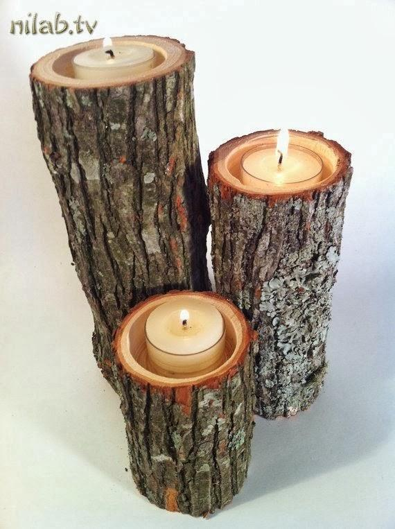 Votive Holders for your Woodland Haven