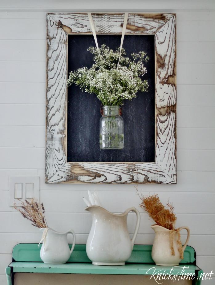 A Hanging Vase Creates Instant Visual Impact
