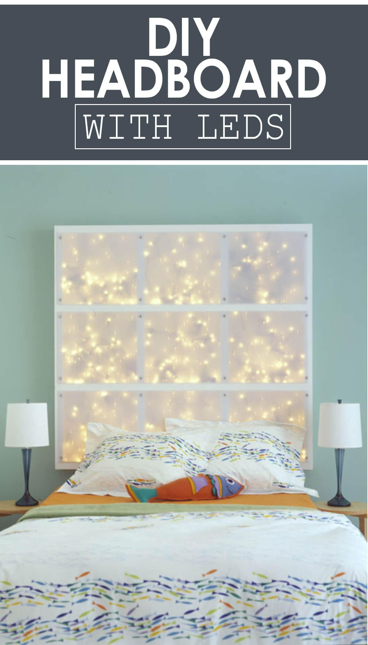 A Heavenly Star-Studded Headboard