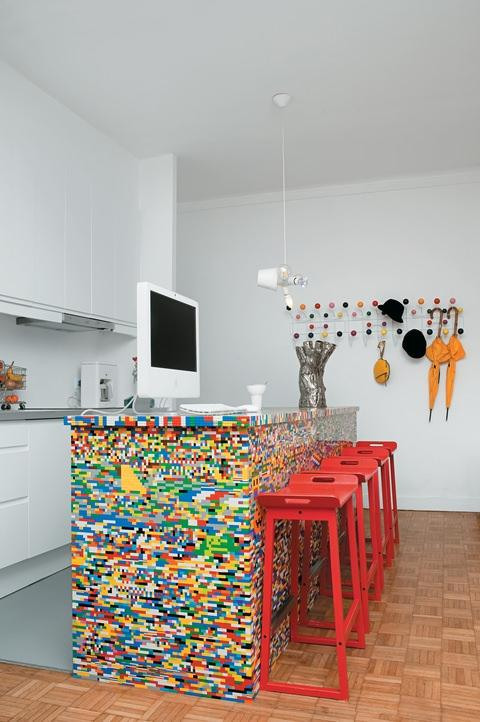 A LEGO-inspired Kitchen? Why Not!