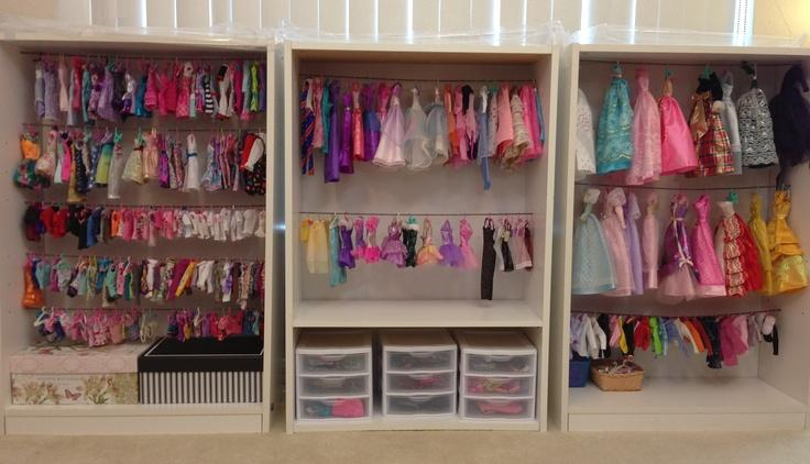 Another Doll Closet Idea