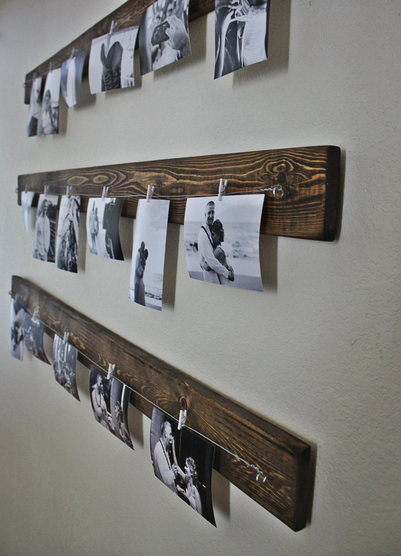 Castaway Memories Beam & Wire Picture Display