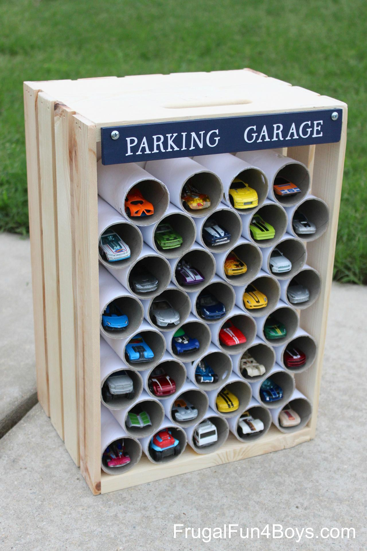 Creative Kids' Car Collection Storage