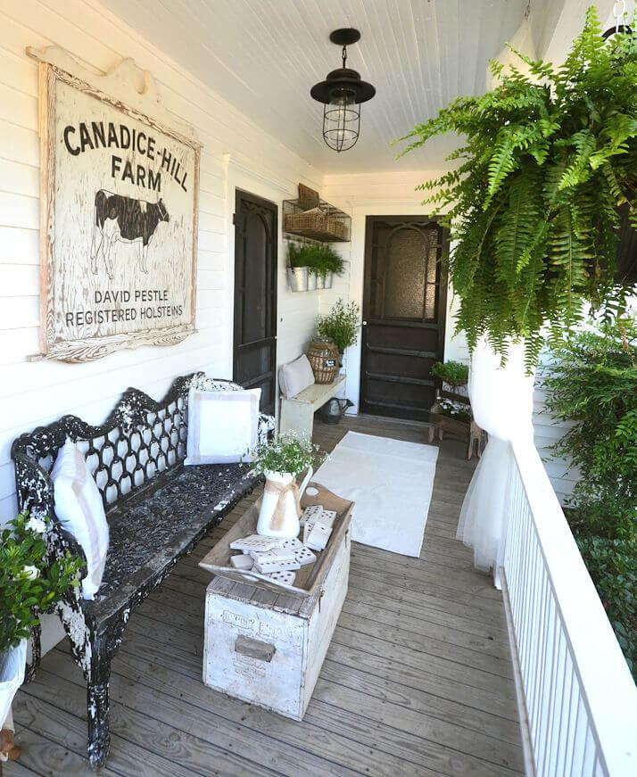 Dairy Charm Victorian Porch Decor