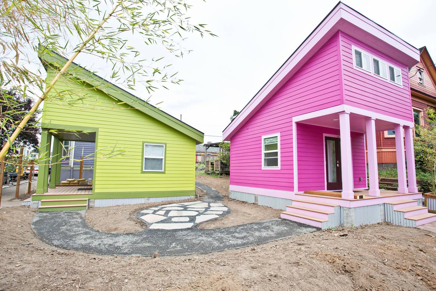 Day-Glo Matching Homes