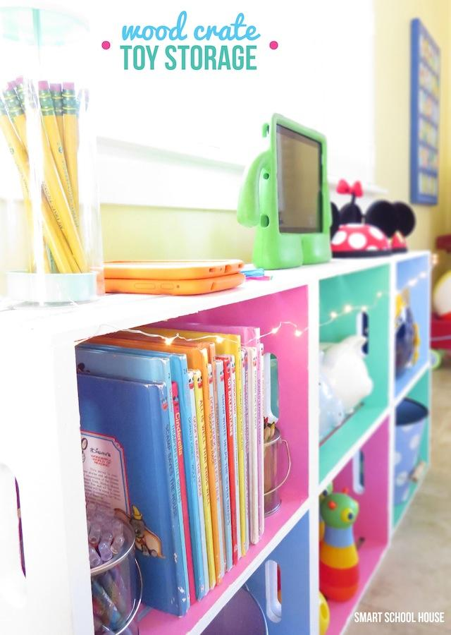 Decorative Storage for a Child's Room