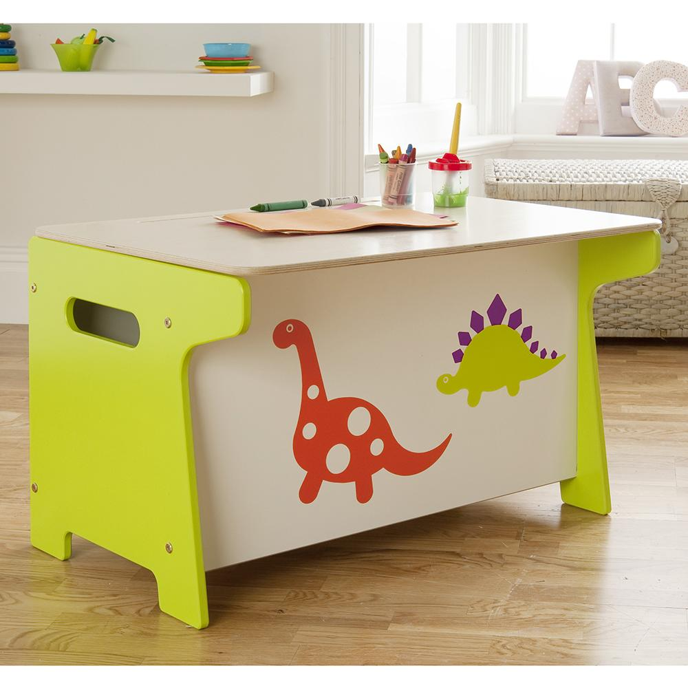 Desk with Toy Storage