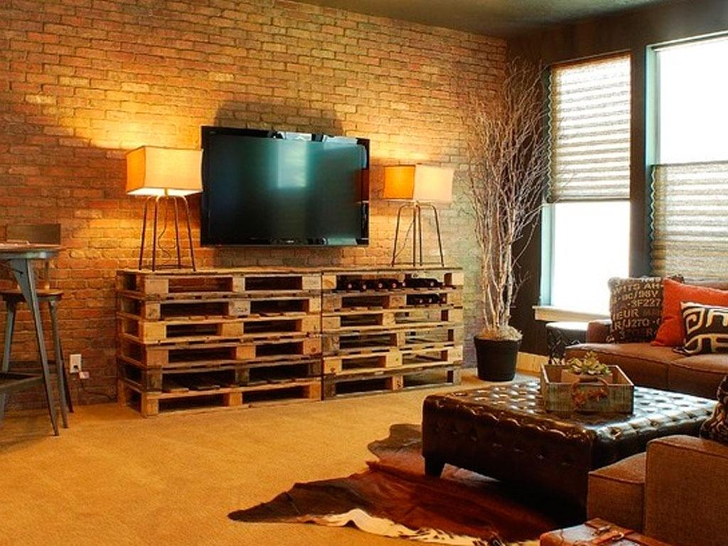 Homemade Entertainment Center