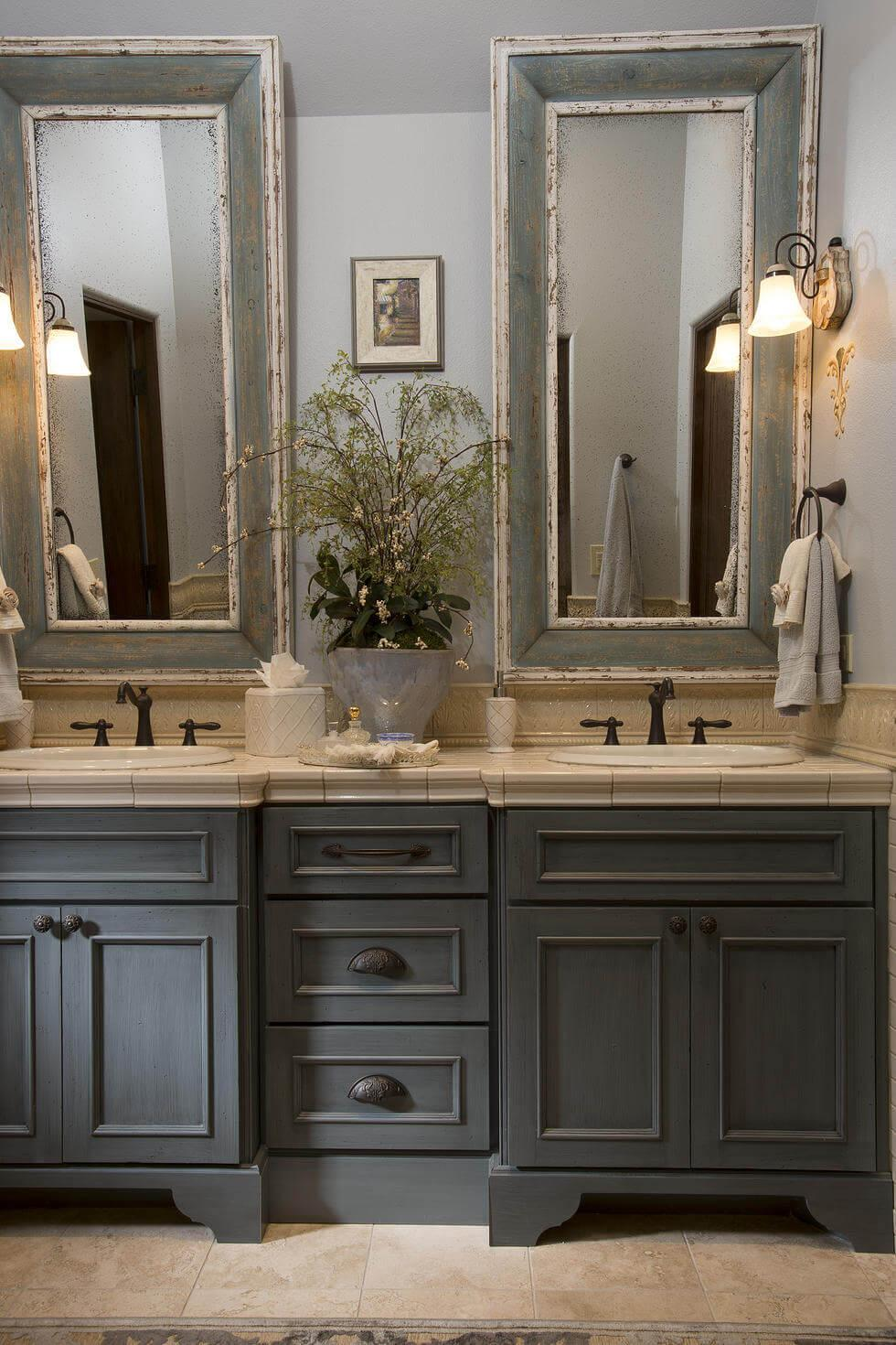 Luxurious Slate Tones Bathroom