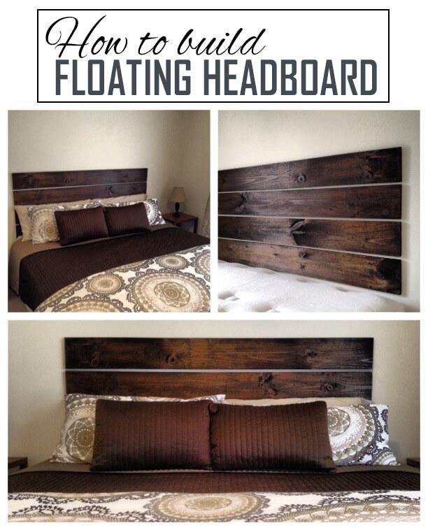 Mounted Rustic Headboard