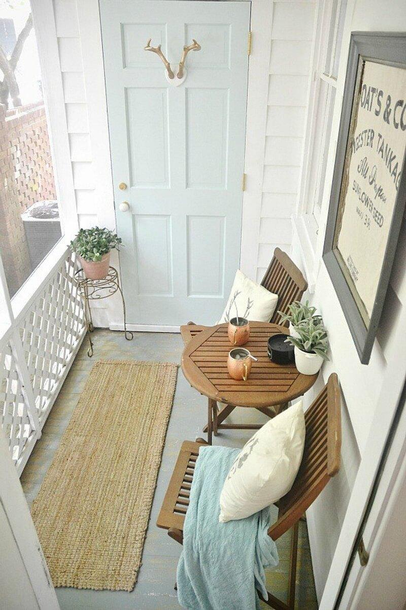 Newport Palace Rustic Porch Decor