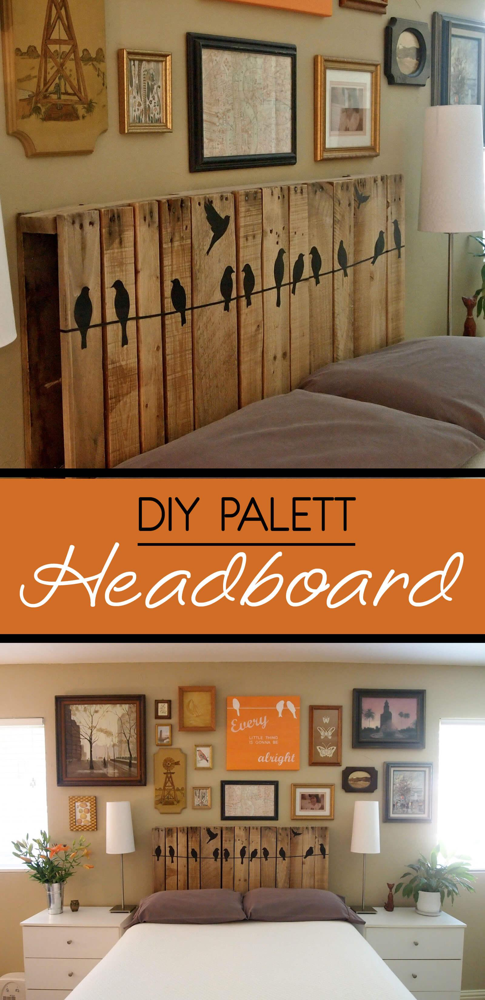 Pallet Headboards Always Soar