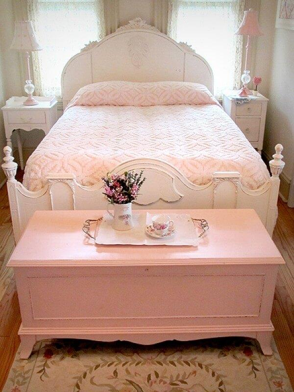 Shabby Chic Pink Hope Chest