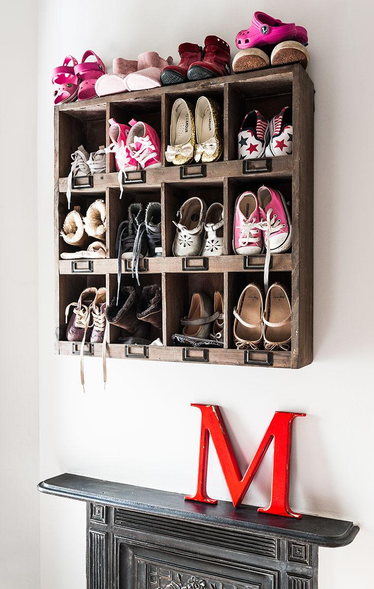 Shoe Cubby Wall Cabine