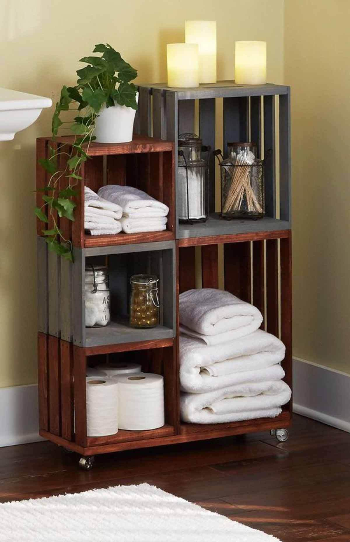 Stylishly Stackable Pallet Project Ideas