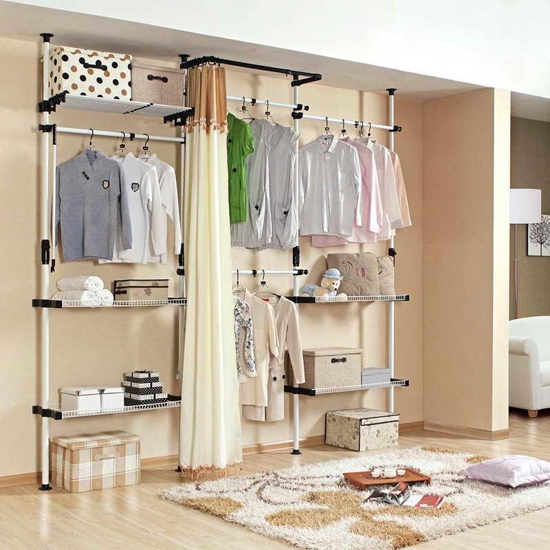 Temporary Closet Storage Solution