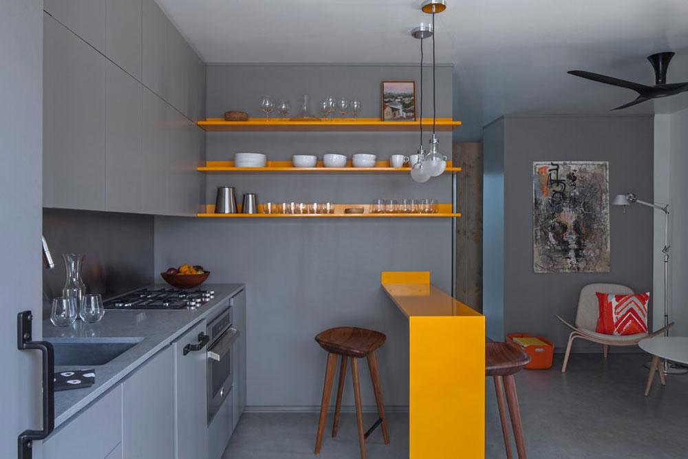 The Clean Slate Modern Kitchen