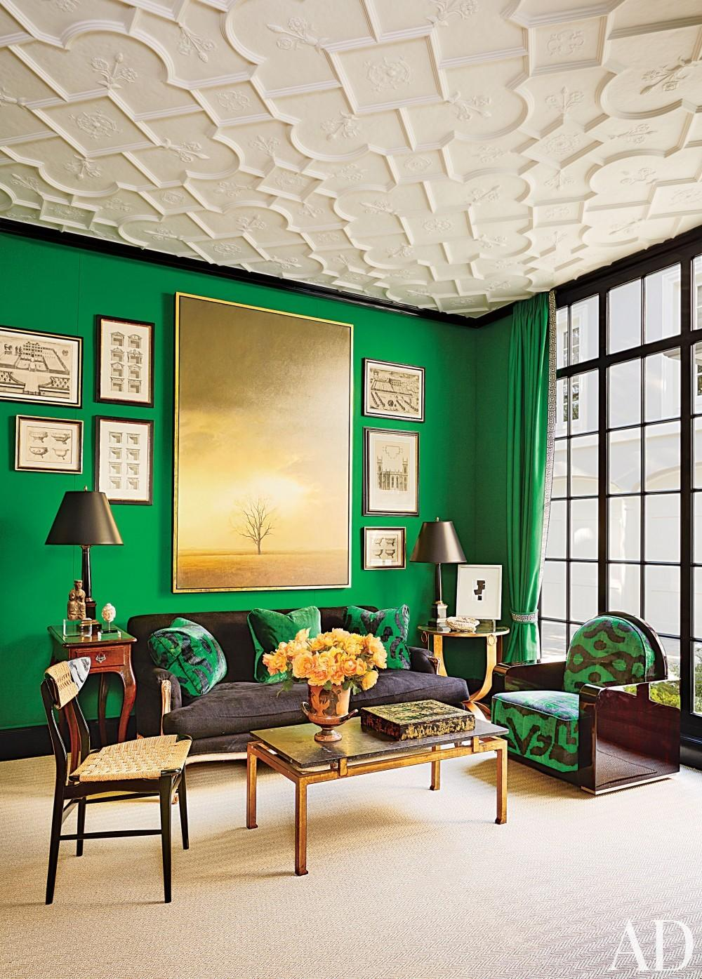The Green Room Decoration Ideas