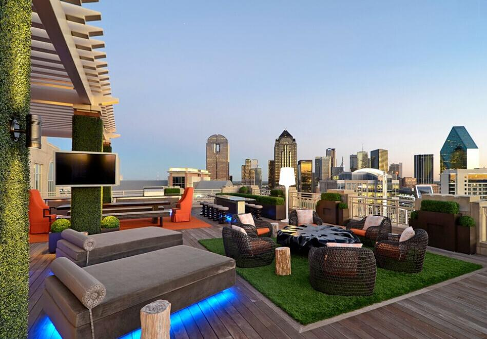 Ultra Modern Rooftop Terrace
